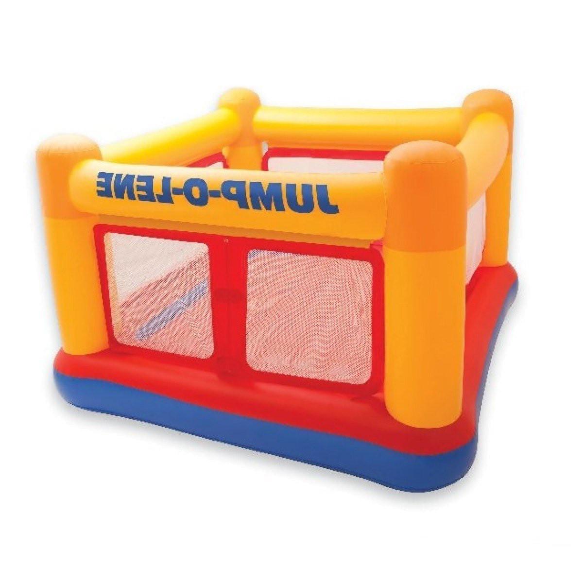 Детский надувной батут Intex Jump-O-Lene , 174х174х112 см