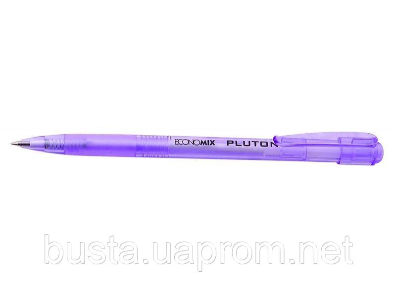 Ручка шариковая автоматическая Pluton фиолетовая