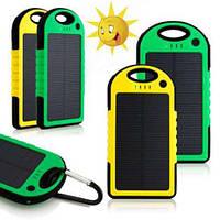 Solar Power Bank 10700 Солнечный Повербанк Зарядка Внешний Аккумулятор