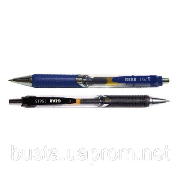 Ручка гелевая автоматическая Gear черная