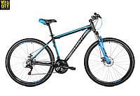 """Велосипед Avanti SMART 27,5"""" 2018  черно-синий"""