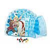 Детский надувной домик Intex 48670 «Холодное сердце», 185 х 157 х 107 см, с шариками 12 шт, фото 2