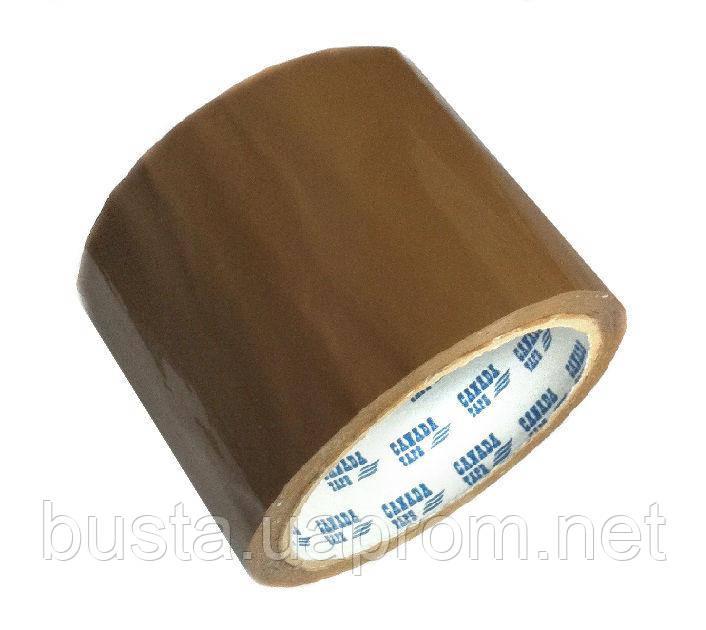 Скотч упаковочный 72мм на 66м CANADA коричневый