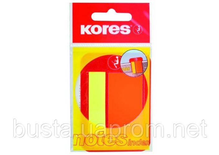 Стикеры Kores 45х12 мм и 45х25 мм