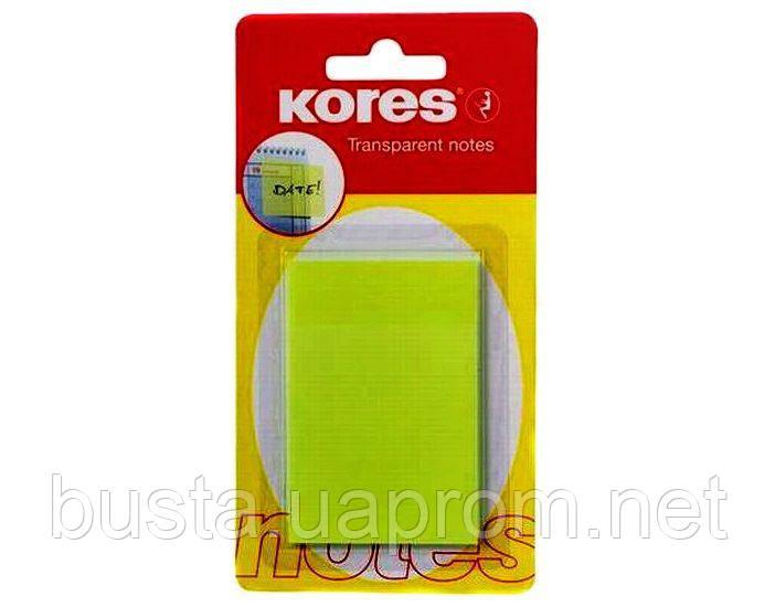 Стикеры Kores 75х50 мм