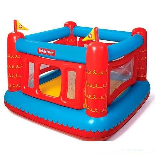 Детский надувной батут Bestway Крепость 175х173х135 см квадратный