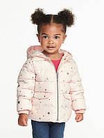 Детская демисезонная курточка на утеплителе для девочки, 114 см (5Т)