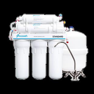 Обратный осмос фильтр  Ecosoft Standard 6-50M  с менирализатором