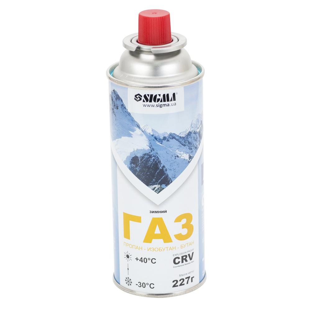 Балон газовий зимовий 227г CRV Sigma (2901721)
