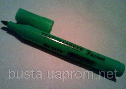 Текстмаркер Fusion флуоресцентный зелёный, фото 2