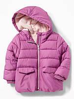 Детская демисезонная курточка на утеплителе для девочки