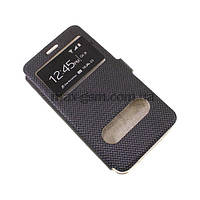 Футляр Flip cover (with window) Samsung G900 Galaxy S5 black