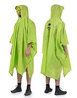 Накидка от дождя (пончо) нейлоновое NatureHike NH17D003-M Зелёный