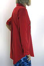 Жіноча туніка-сорочка вишита бісером  SALOON, фото 3