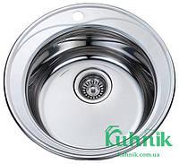 Мойка кухонная Kraft M510_0,8 mm (полированная), фото 1
