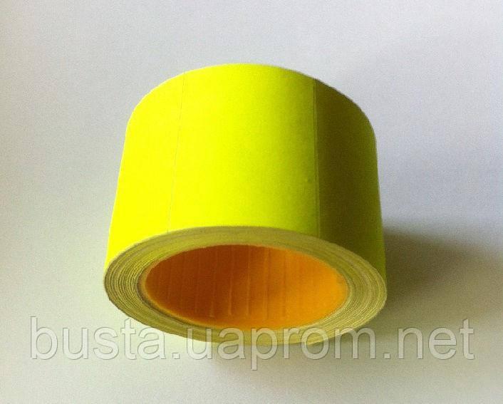 Ценники 36 на 25мм желтые 200 шт