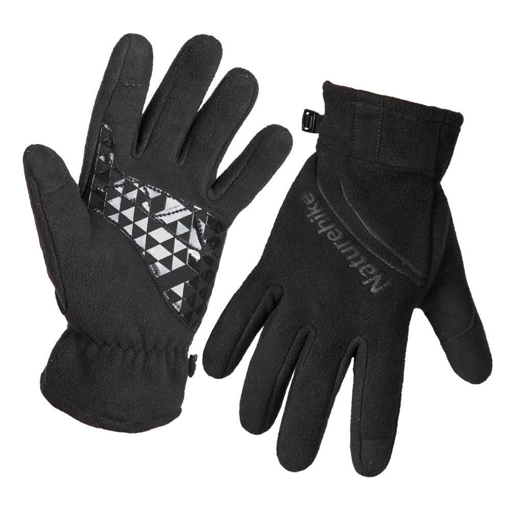 Перчатки флисовые NatureHike Black NH24S018-S L