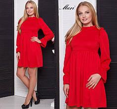 Трикотажное короткое платье тв-02001-1