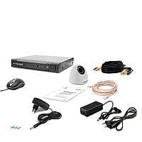 Комплект видеонаблюдения Tecsar AHD 1IN-3M DOME, фото 1