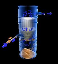 Основной фильтр вакуумной установки TowerVac