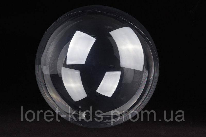 Воздушный шар абсолютно прозрачный 45 см ,баблс,баблз