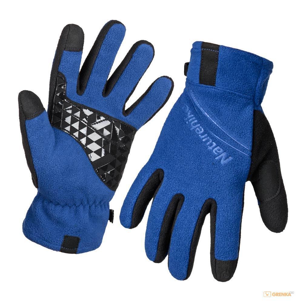 Перчатки флисовые NatureHike Blue NH24S018-S XL