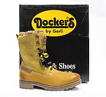 Шикарные зимние ботинки Dockers by Gerli, Германия-Оригинал
