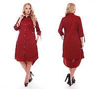 Платье женское Евгения бордо, фото 1