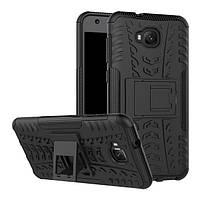 Чехол Asus ZenFone Live / Zenfone 4 Selfie / ZB553KL / ZD553KL противоударный бампер черный