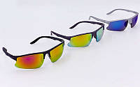 Велоочки солнцезащитные (спортивные очки) 799: 3 цвета