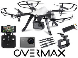 Квадрокоптер дрон OVERMAX X Bee Drone 8.0 камера 4K WiFi