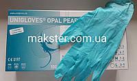 Перчатки нитриловые Unigloves опаловый жемчуг 100 шт в уп , фото 1