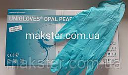 Перчатки нитриловые Unigloves опаловый жемчуг 100 шт в уп