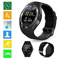Качественные умные часы Sim Smart Watch Y1. Практичный дизайн. Доступная цена. Купить часы. Код: КДН3004
