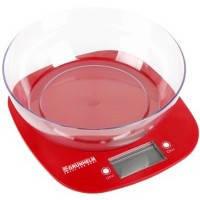 Весы кухонные Grunhelm KES-1PR (красные)
