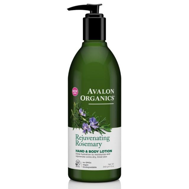 Лосьон для рук и тела «Розмарин» *Avalon Organics (США)*