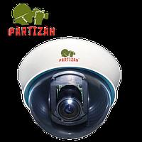 Аналоговая купольная видеокамера Partizan CDM-VF31S v1.0