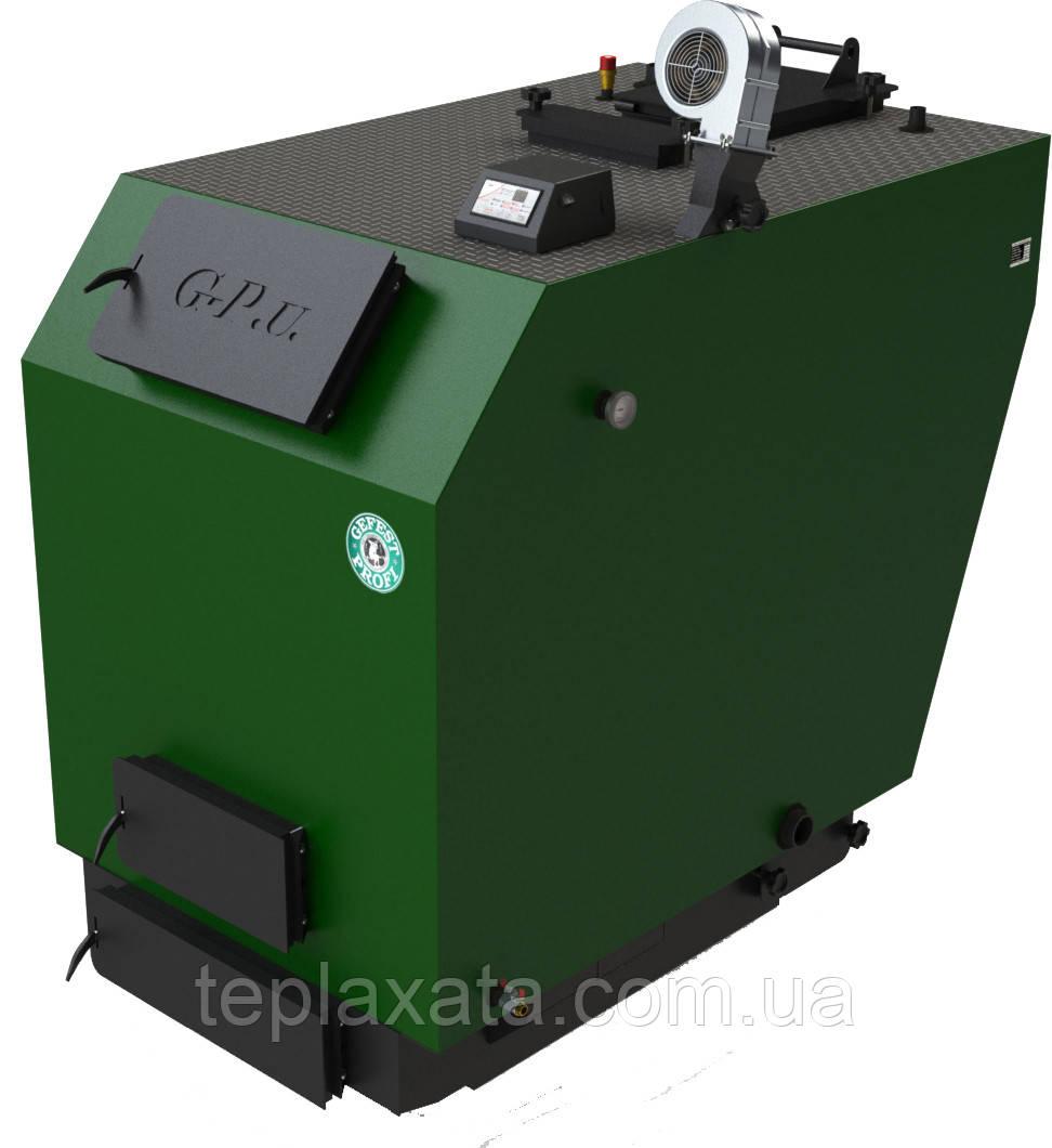 Промисловий твердопаливний котел тривалого горіння Gefest-Profi U 400
