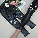 Модные детские лосины Смайл на девочку Размеры на 5- 6 лет, фото 2