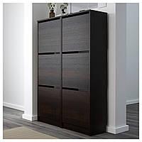 Шкаф для обуви BISSA 49x135 см коричневый (502.484.28)