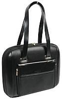 Женская деловая сумка-кейс для ноутбука 12 дюймов Professional 605.10 черный