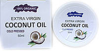 Кокосове масло для омолодження шкіри обличчя і тіла Extra Virgin Coconut Oil