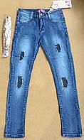 Джинсовые брюки для девочек оптом,Tautus , 134-164 рр