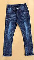 Джинсовые брюки на девочку оптом, S&D, 4-16 рр.