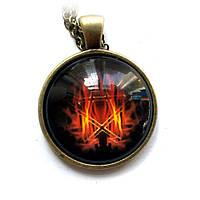Кулон Пентаграмма в огне, фото 1