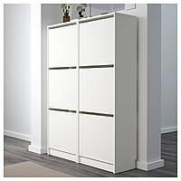Шкаф для обуви BISSA 49x135 см белый