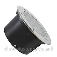 Світильник грунтовий QК-12 LED 12W 6000K 230V IP65 розмір 160мм * 90мм, фото 5