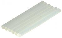 Клей силиконовый для термопистолета, диаметр 11мм, длина 25см, 1шт