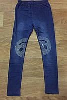 Лосины с имитацией джинсы для девочек Sincere оптом,134-164 pp., фото 1
