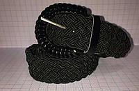 Женский ремень плетенка П-1 (черный)
